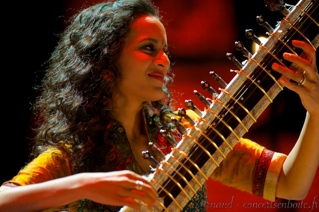 photo live de Anoushka Shankar