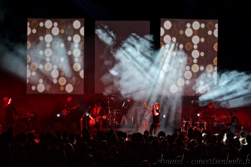 Photo Live du concert de Archive - Théâtre Antique - Vaison-la-Romaine - 12-08-2015
