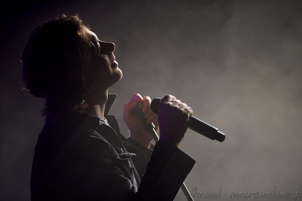 photo live de Benjamin Biolay