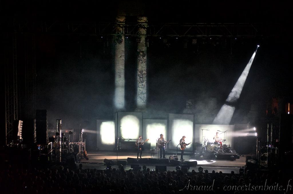Photo Live du concert de Famille Chedid - Théâtre Antique - Arles - 21-07-2015