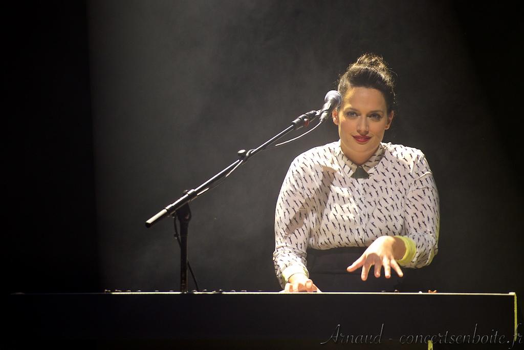 photo live de Anna Chedid