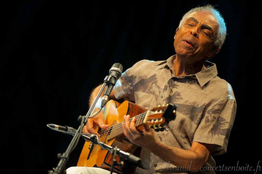 photo live de Gilberto Gil