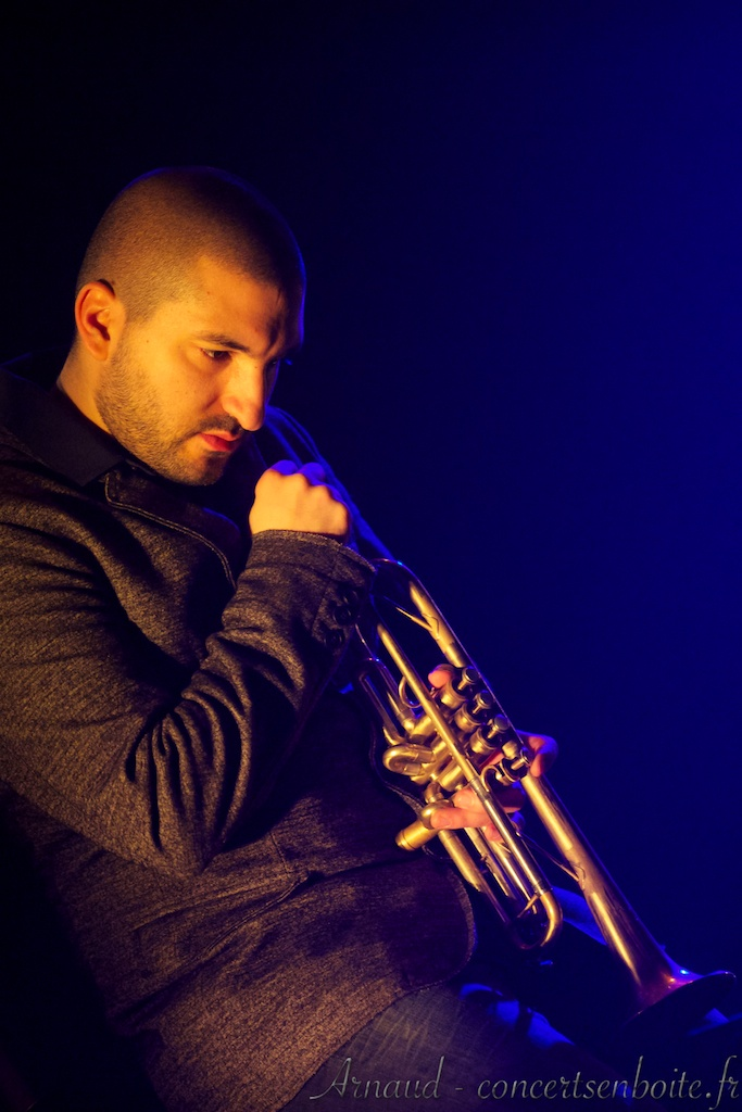photo live de Ibrahim Maalouf