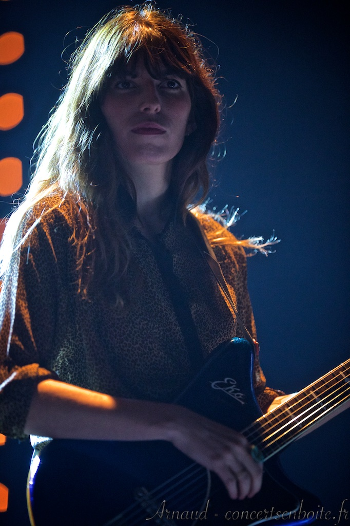 photo live de Lou Doillon