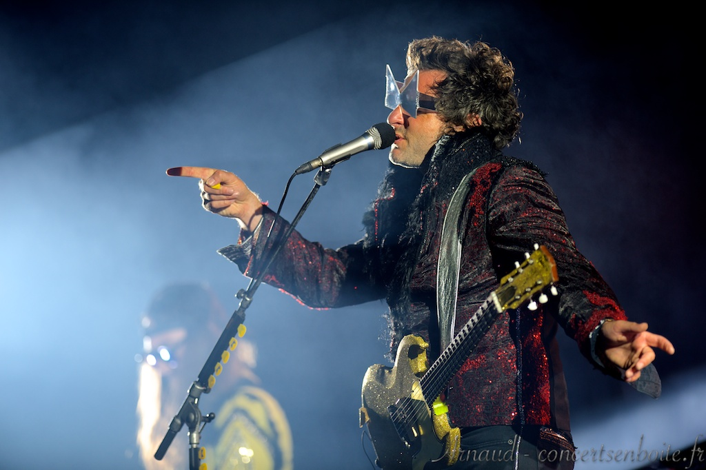 photo live de Matthieu Chedid