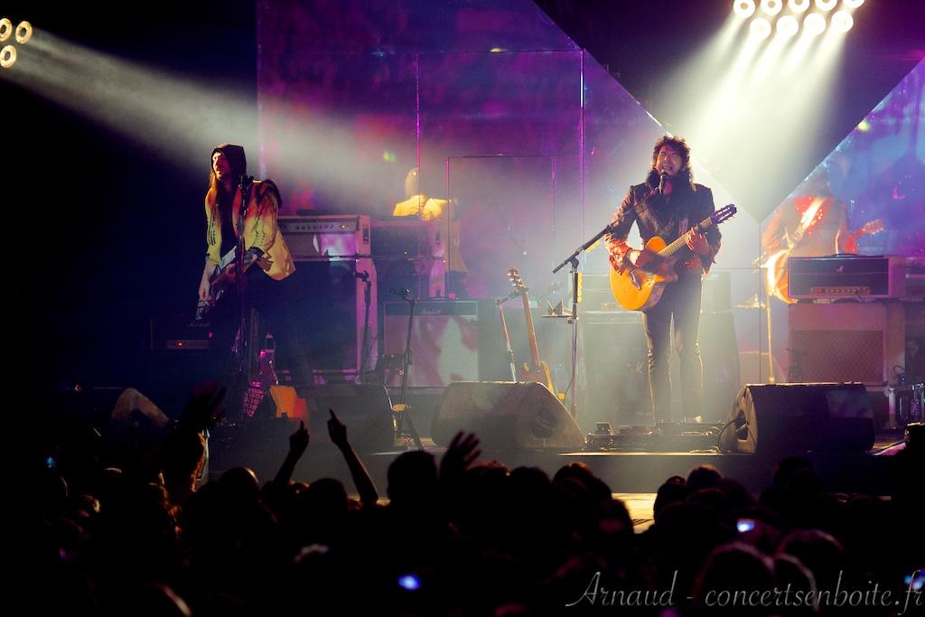 Photo Live du concert de Mathieu Chedid -M-  - Dome - Marseille - 15-05-2013