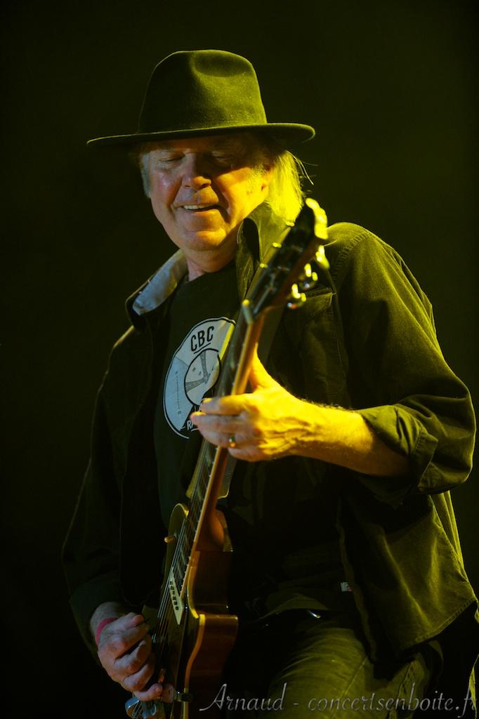 photo live de Neil Young