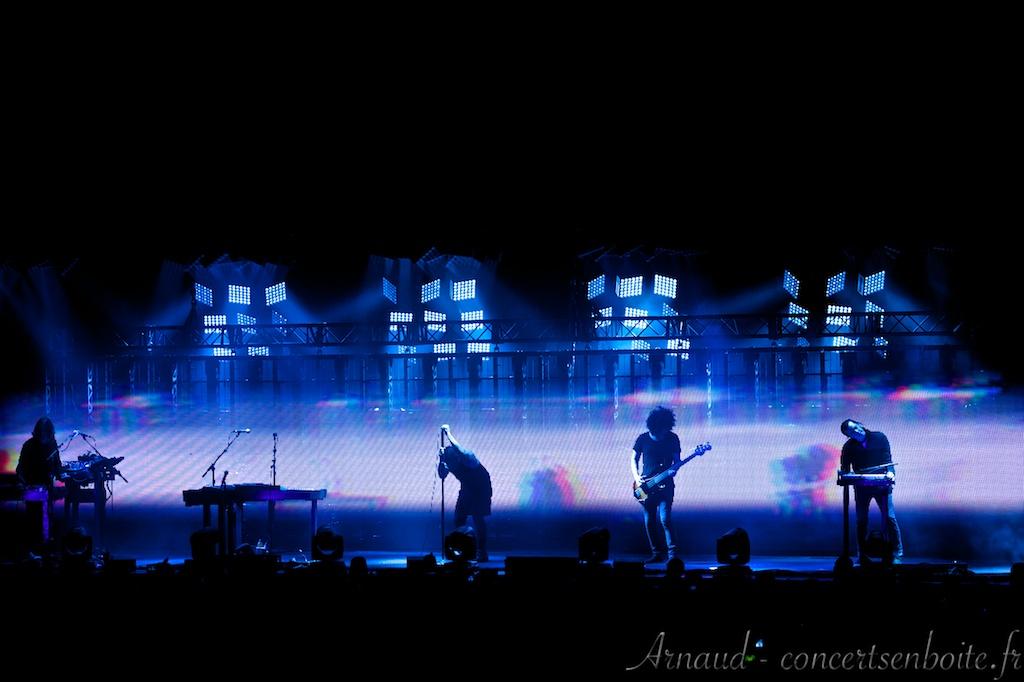 Photo Live du concert de Nine Inch Nails - Zénith - Paris - 29-05-2014