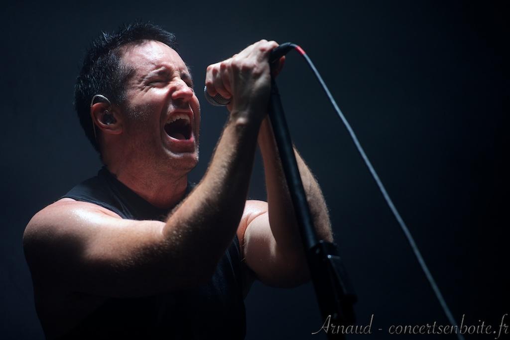photo live de Trent Reznor