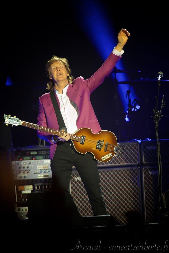 photo live de Paul McCartney