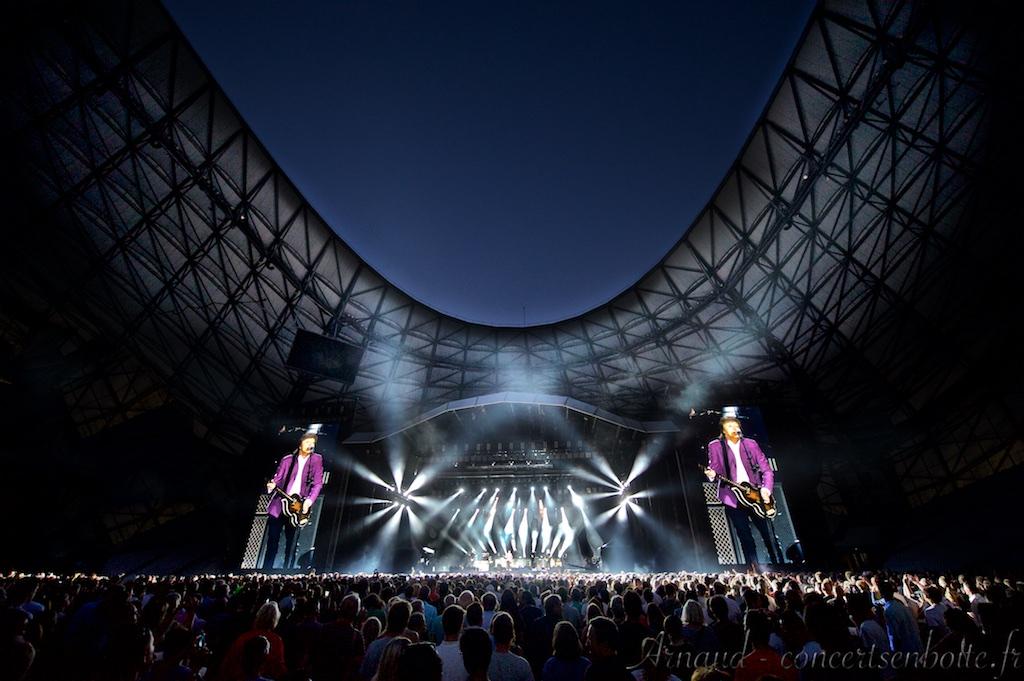 Photo Live du concert de Paul McCartney - Stade Vélodrome - Marseille - 05-06-2015
