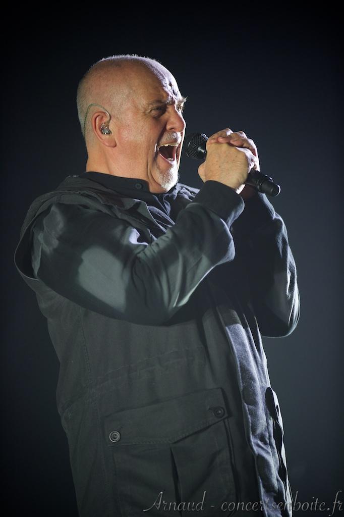 photo live de Peter Gabriel