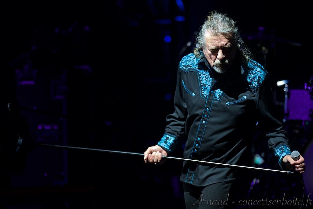 photo live de Robert Plant