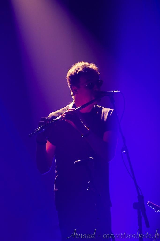 photo live de Théo Travis