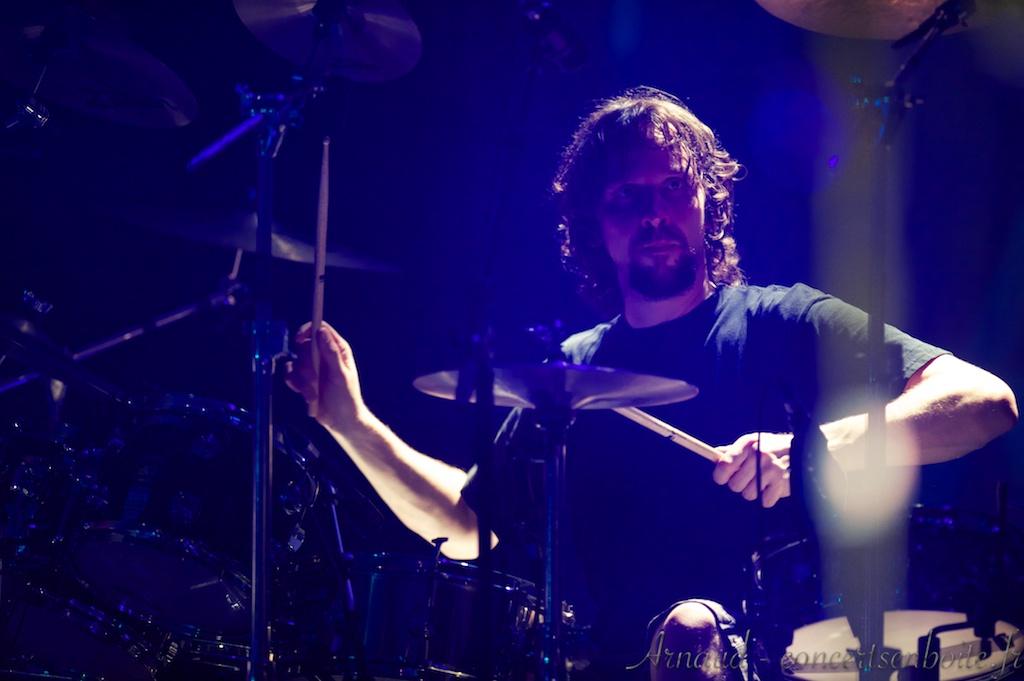 photo live de Marco Minnemann