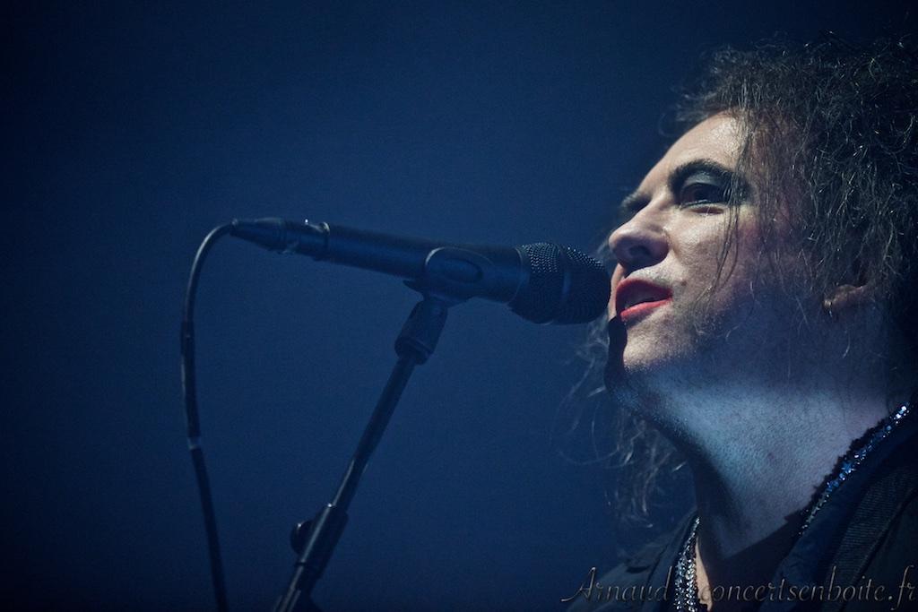 Photo Live du concert de The Cure - Arena - Montpellier - 18-11-2016