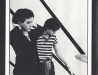 une des photos de la soirée - The Cure - Tour Book 1981 - Robert Smith & Simon Gallup