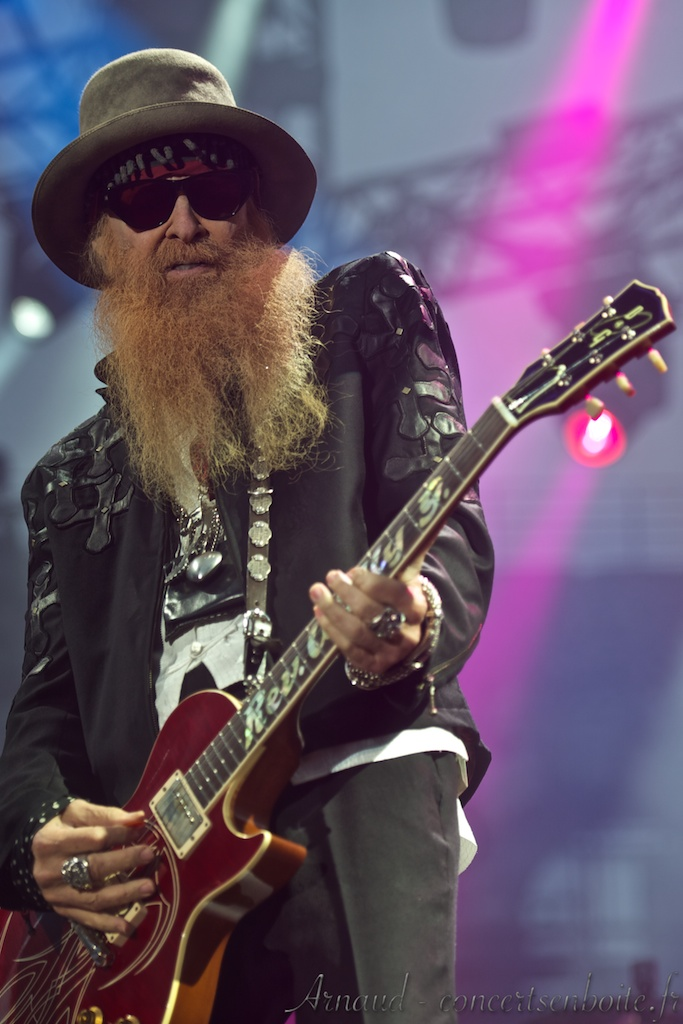 photo live de Billy Gibbons