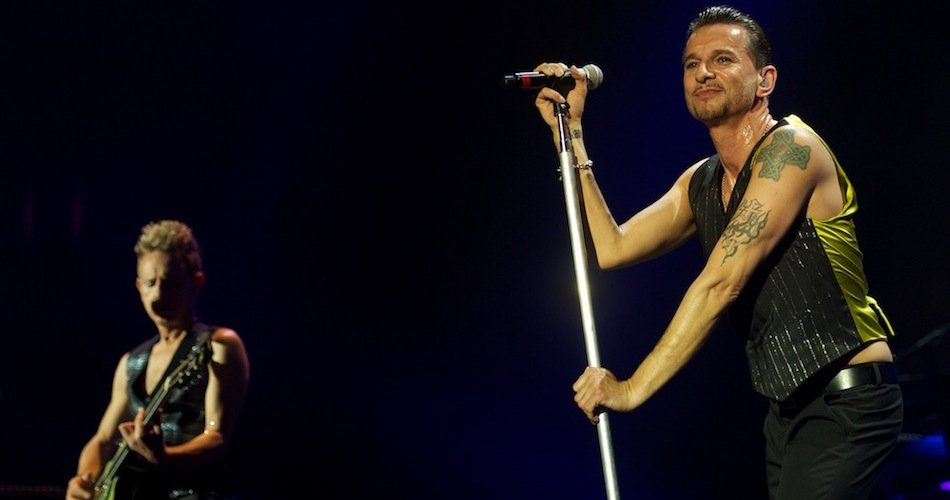 Photo du concert de Depeche Mode @ Palais Nikaïa (Nice)