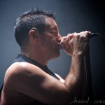 Photo du concert de Nine Inch Nails
