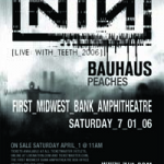 Photo du concert de Quand Nine Inch Nails rencontre Bauhaus en 2006