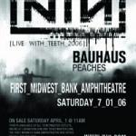 Image pour article Quand Nine Inch Nails rencontre Bauhaus en 2006