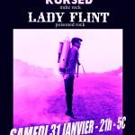 Image pour article Concert : Kursed, Memento mori, Lady flint @ machine à coudre