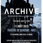 Image pour article Places à gagner pour les concerts d'Archive en Août dans le Sud