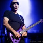Photo du concert de Joe Satriani