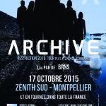 Image pour article 2*2 Places à gagner pour le concert d'Archive le 17 Octobre à Montpellier