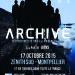 2*2 Places à gagner pour le concert d'Archive le 17 Octobre à Montpellier