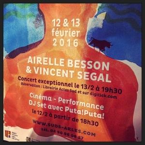 Airelle Besson et Vincent Segal