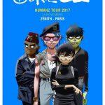 Image pour article Chronique de Gorillaz le 24 Novembre au Zenith