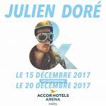 Photo du concert de Julien Doré –  20 Décembre à Bercy
