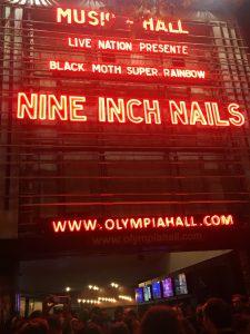 Nine Inch Nail - fronton Olympiz